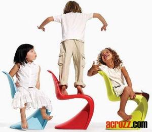 Vitra Stackable Kids Children Baby S Panton Pantone Junior Chair pictures & photos