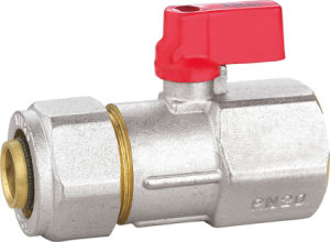 Brass Ball Valve with Aluminum Handle BV-1430 M/F pictures & photos