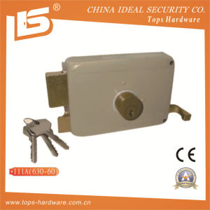 Double Bolt Door Lock Rim Lock (111A) pictures & photos
