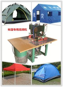 High Frequency Plastic Welding Machine for PVC/PU Tent (factory price) pictures & photos