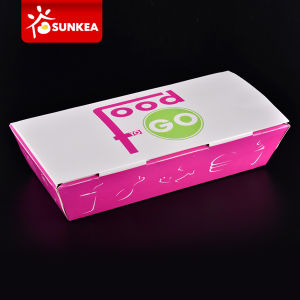 Custom Food Grade Paper Box Hot Food Packaging pictures & photos