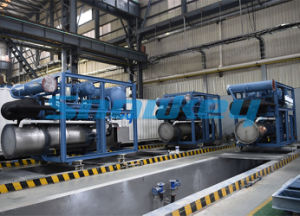 Ice Tube Machine for Hongkong Market Delivered by 2016 Year Large Size Tube Ice Maker pictures & photos