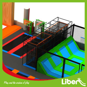 Professional Indoor Trampoline Playground Park for Children and Adults pictures & photos