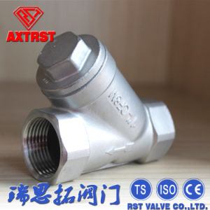 Stainless Steel CF8m Thread Y Type Strainer pictures & photos