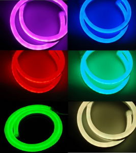 CE EMC LVD RoHS Two Years Warranty, Green LED Neon Flex Light pictures & photos
