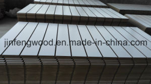 ISO9001: 2008 Certificate White Melamine MDF with Slot pictures & photos