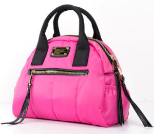 Trendy & Lovely Pink Ladies Nylon Designer Handbags