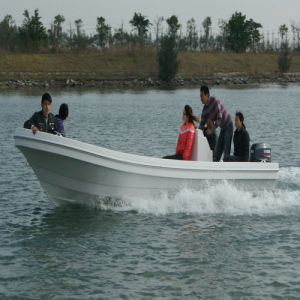 5.8m Length Pontoon Finshing Boat for Sale pictures & photos
