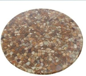 Supply Granite Restaurant Dining Table Tops (ST-403) pictures & photos