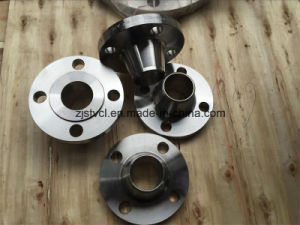 DIN Standard Slip on Forged Steel Flanges with Welding Neck pictures & photos