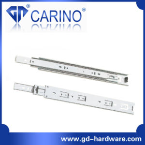 (4203) Top Quality Telescopic Drawer Channel /3-Fold Steel Ball Bearing Slide pictures & photos