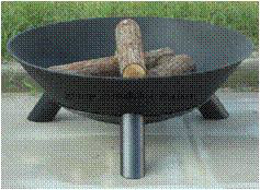 Round Garden Patio Camping Brazier pictures & photos