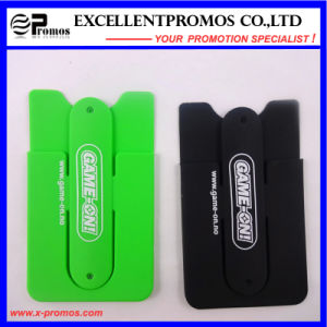 Promational Gift Silicone Card Holder for Cell Phone (EP-C8262) pictures & photos
