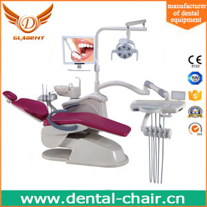 Ce Approved Gladent Dental Chair with Rotatable Unit Box pictures & photos