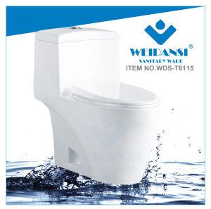 Weidansi Ceramic Wash Down S-Trap One Piece Toilet (WDS-T6115)