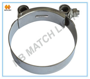 Adjustable Marine Grade T-Bolt Band Stainless Steel Clamps pictures & photos
