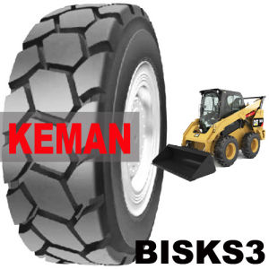 Skid Steers Tire Bisks3 10-16.5 (265/70D16.5) 12-16.5 (305/70D16.5) pictures & photos