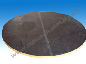 Explosion Bonded R60702/A516 Gr. 70 Zirconium Clad Plate / Tubesheet pictures & photos