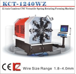 Kct-1240wz 4mm Camless Versatile Spring Making Machine pictures & photos