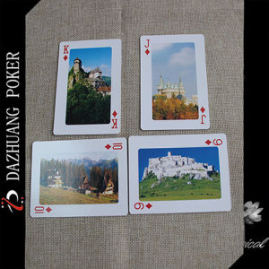 The Quality Scenery Arts Playing Poker Cards pictures & photos
