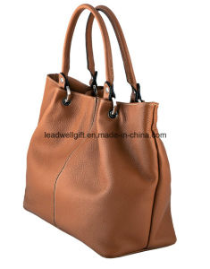 The Ultimate Fashion Stylish Tan Leather Handbag pictures & photos