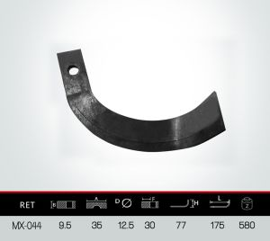 Rotary Tilling Blade, Rotavator Blade pictures & photos