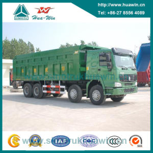 Sinotruk HOWO 8X4 Front Liffing Hyva Tipper Dump Truck pictures & photos