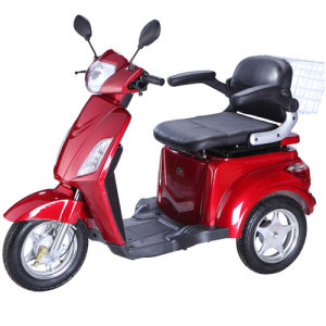 Hot Sale 3 Wheel Electric Travel Scooter with Comfortable Seat pictures & photos