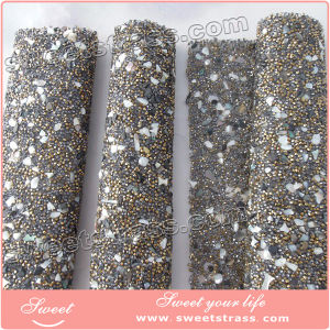 New Arrival Stone Mesh Hotfix Style for Decorations pictures & photos