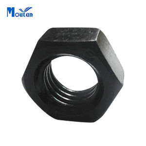 Carbon Steel Black Heavy Hex Nuts