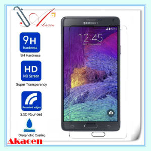 HD 9h Tempered Glass Screen Protector for Samsung Galaxy Note 4 N910 (Arc Edge)