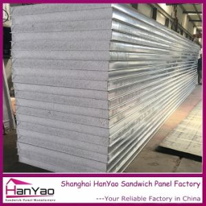 200mm Color Steel Expanded Plystyrene EPS Sandwich Panel for Wall pictures & photos