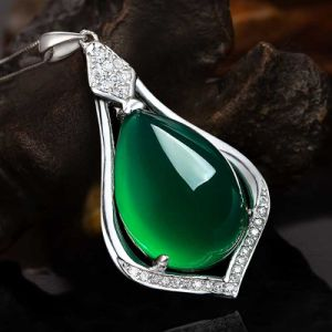 Sale Alibaba Express Jewelry Product Opal Cut Glass Crystal Pendant pictures & photos