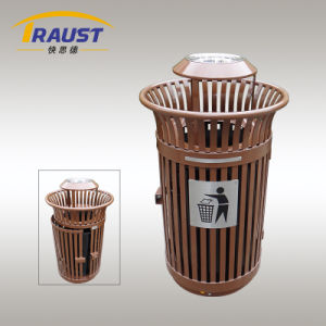 Wholesale High Quality Cheap Price Metal Trash Bin pictures & photos