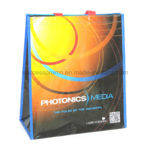 Cheap Factory Price Custom Made Printed Laminated RPET Shopping Bag pictures & photos