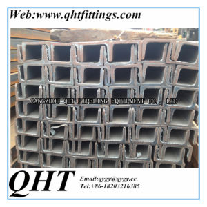 A36 Ss400 Q235 Q345 JIS GB Standard Channel Steel Channel pictures & photos