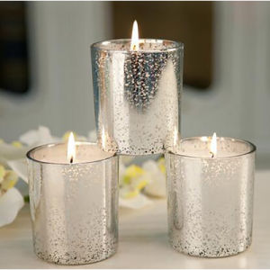 Handmade Glass Jar Shape Luxury Scented Candle pictures & photos