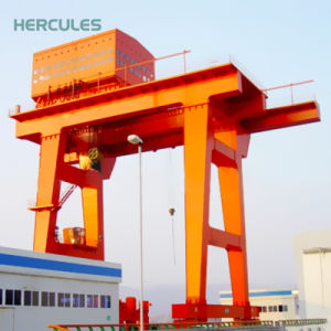Heavy Duty Double Beam Gantry Crane for Steel Store Use pictures & photos