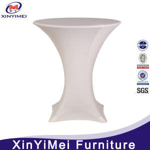 Durable Table Cover, Lycra Table Cover, Spandex Cocktail Table Cover pictures & photos