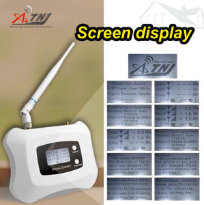 High Gain LCD Smart Display Yagi+Pen Antenna Lte 4G Signal Repeater 800MHz Signal Amplifier 4G Mobile Signal Booster pictures & photos