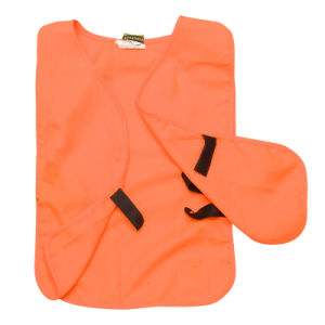 Custom Cheap Orange Reflective Safety Vest (UF081W) pictures & photos