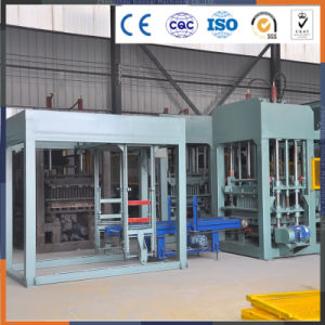 LCD Touch Screen to Adjust Parameters Cement Block Making Machines Price pictures & photos