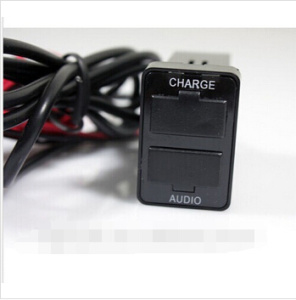 Audio Port Interface Dual USB Charger pictures & photos