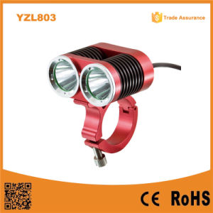 2 X CREE T6 1500lumens Reflector Bicycle Lamp (YZL803) pictures & photos
