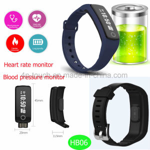2017 Fitness Wristband Bluetooth Smart Bracelet for Christmas Gift Hb06 pictures & photos