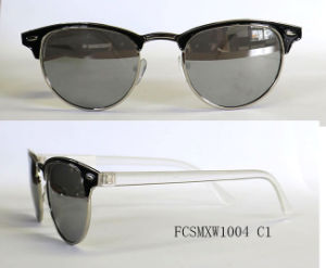 New Arrival High Quality Painting Metal Sunglasses for Lady pictures & photos