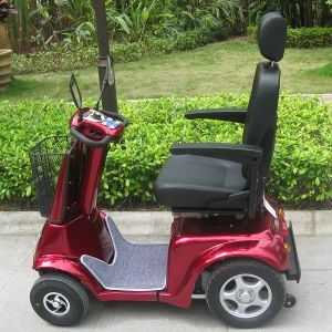 Four Wheel Handicapped Scooter Electric with CE (DL24800-3) pictures & photos