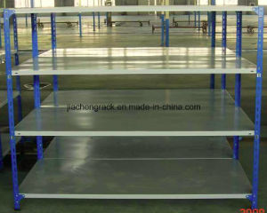 Most Popular China Made Galvanized or Powder Coated Rivet Shelving pictures & photos