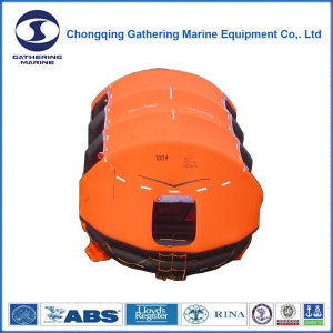 Cheap Self-Righting Inflatable Liferaft for 100 Man pictures & photos