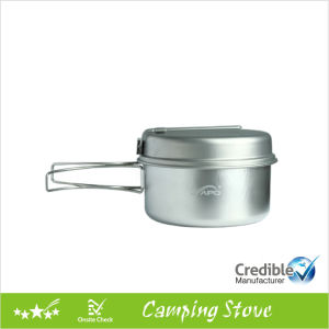2PCS Ultraight Titanium Camping Cookware Set pictures & photos